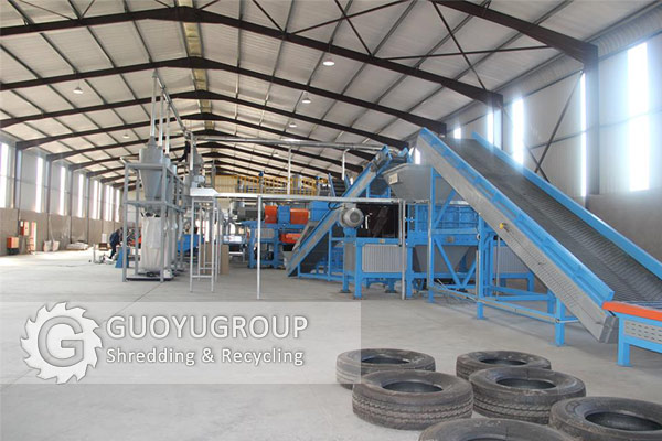 Tire Recycling Line Manufacturer